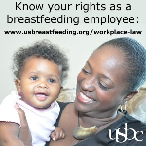 Know Your Rights as a Breastfeeding Employee